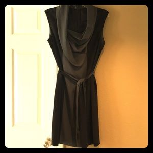 C. Luce Dress with Scoop/Cowl neck